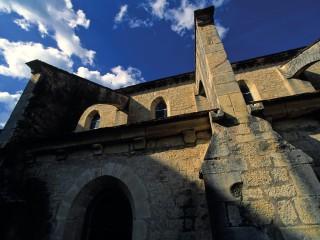 Abbaye de Noirlac, arcs boutants