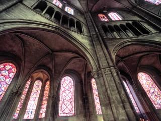 Cathédrale de Bourges, Cher. Les vitraux