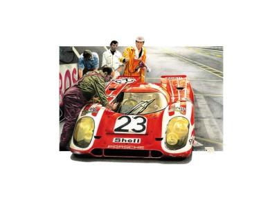Porsche 917k – Le Mans 1970 – Première victoire dans la Sarthe pour Porsche