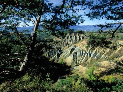 Les ravins de Corboeuf, Haute-Loire – Vue d'ensemble