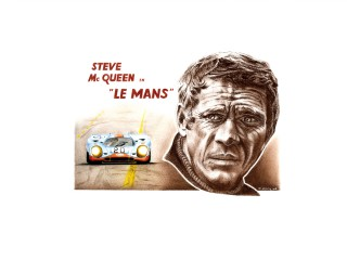 Steve Mc Queen – Film « Le Mans » 1970 – Porsche 917k