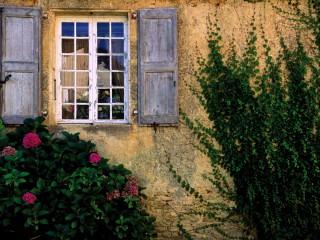 Vieille fenêtre, Saint-Genies, Dordogne