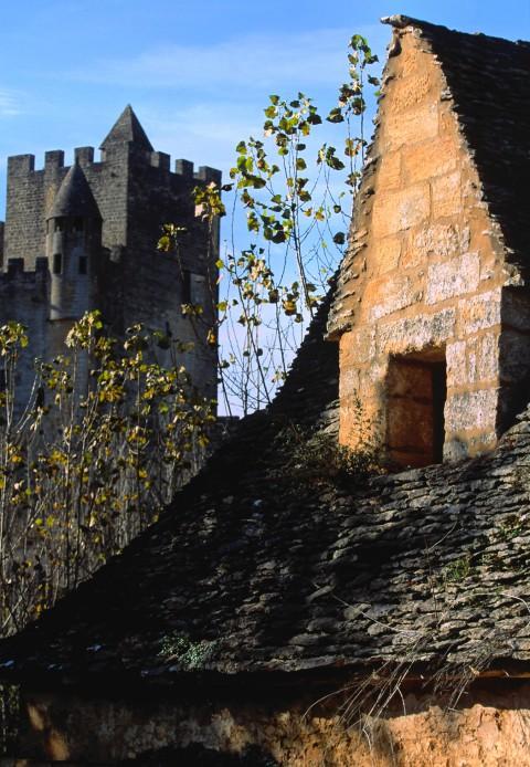 Lauzes anciennes à Beynac, Dordogne