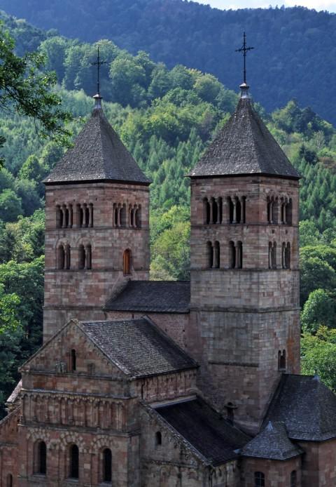 Abbaye de Murbach, Haut-Rhin, Alsace
