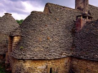Les cabanes du Breuil, Saint-André d'Allas, Dordogne