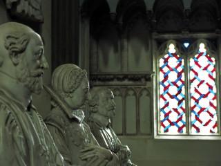Cathédrale de Bourges, Cher – Statues, intérieur de l'édifice
