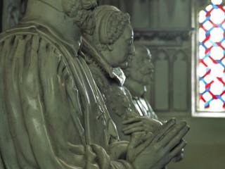 Cathédrale de Bourges, Cher – Statues