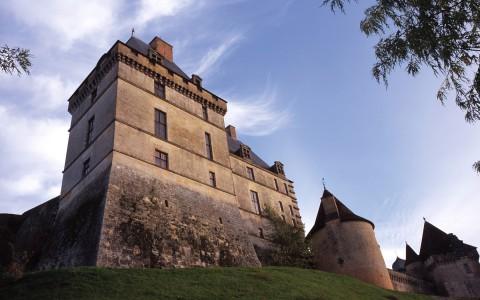 Château de Biron, Dordogne