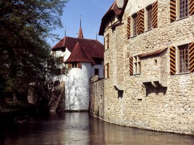 Château de Hallwyl, canton d'Argovie, Suisse