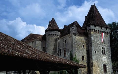 Château de La Marthonie, Saint-Jean-de-Côle, Dordogne