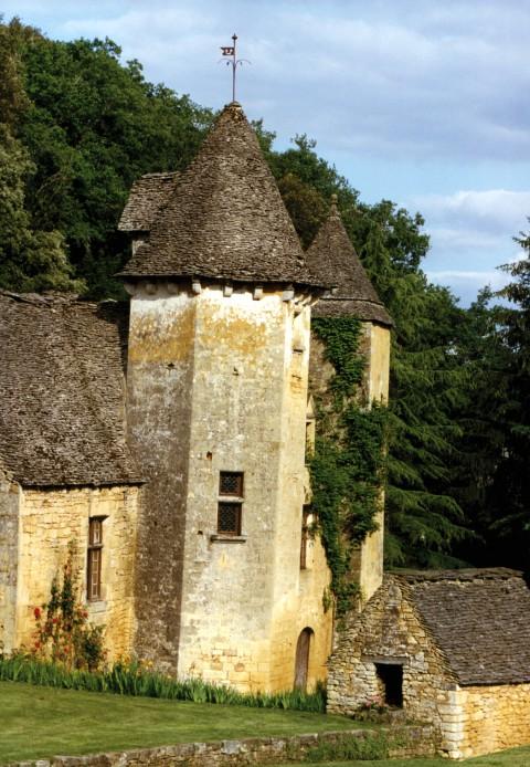Château de Lacypierre, Saint-Crépin et Carlucet, Dordogne