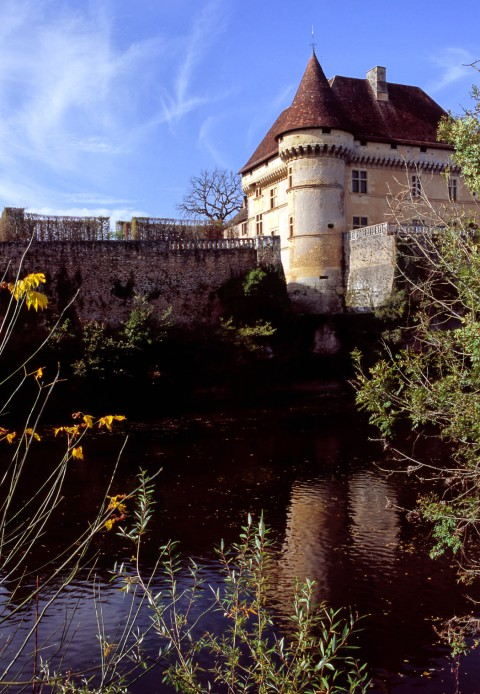 Château de Losse, Dordogne – Reflets sur la vézère