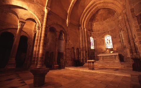 Eglise Saint-Genès, Châteaumeillant, Cher – Le choeur
