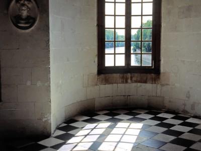 Château de Chenonceau, Indre-et-Loire – Galerie sur le Cher, une fenêtre