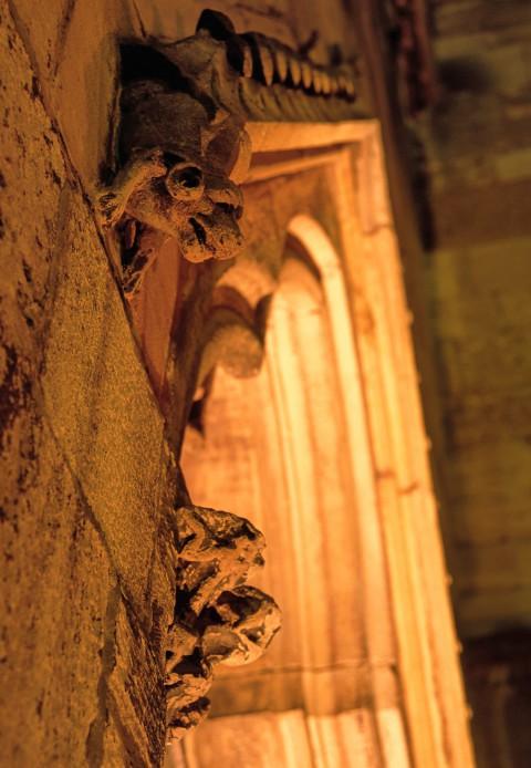Collégiale Saint-Martin, Colmar, Alsace – Détail de la façade