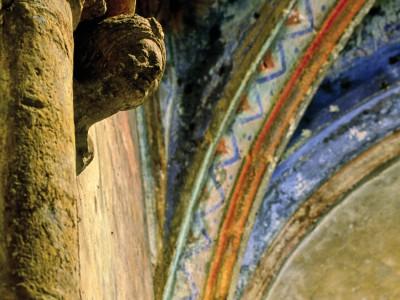 Eglise Saint-Caprais, Carsac-Aillac, Dordogne  –  Détail intérieur