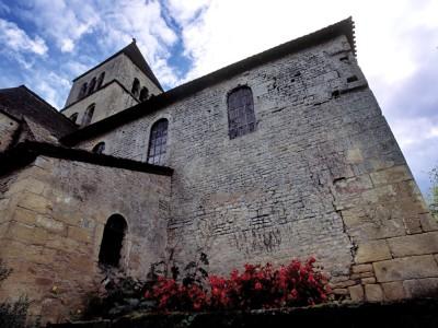 Eglise Saint-Léonce, Saint-Léon-sur-Vézère, Dordogne