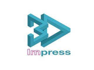 Logo 3D Impress