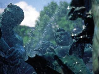 Monument aux Girondins, Bordeaux, Gironde – Un visage en détail