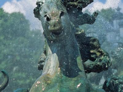 Monument aux Girondins, Bordeaux, Gironde – Tête de cheval