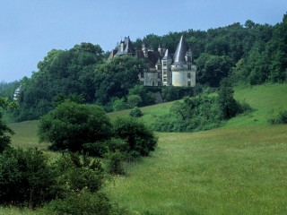 Château de Puyguilhem, Dordogne – Après la pluie