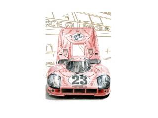 Porsche 917/20 «Pink Pig», Le Mans 1971