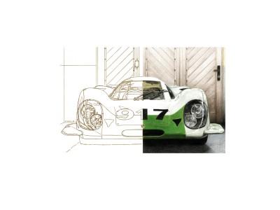 Porsche 917, chassis 001, mars 1969