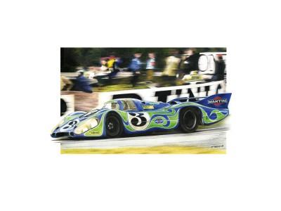 Porsche 917L «Psychédélique», Le Mans 1970