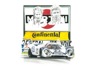 Porsche 917k, Le Mans 1971, seconde victoire d'une 917 dans la Sarthe