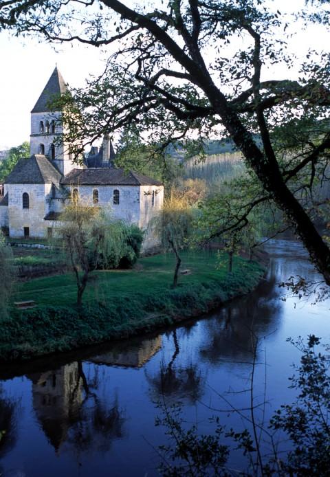 Reflets sur la Vézère, Saint-Léon sur Vézère, Dordogne