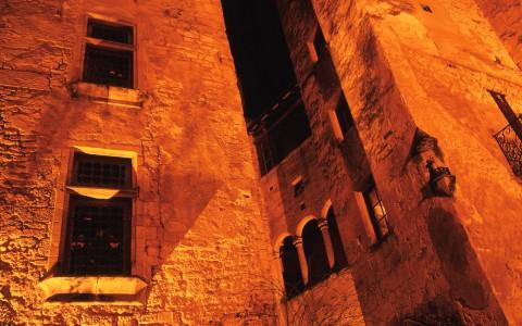Sarlat, Dordogne – Une cour intérieure