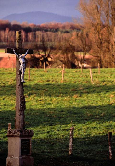 Valdieu-Lutran, Alsace – Crucifix