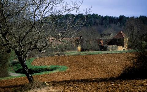 Vers Audrix, Dordogne