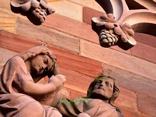 Eglise Saint-Maurice, Mutzig, Alsace  –  Détail