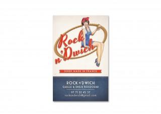 Carte de visite Rock n'Dwich