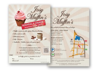 Flyer Josy Muffin's