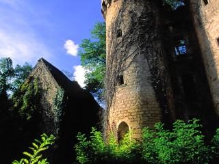 Tour prisonnière du lière, Dordogne