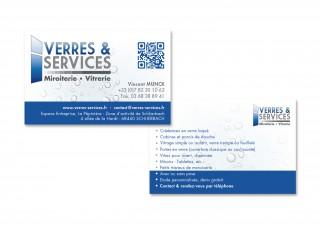 Carte de visite Verres & Services