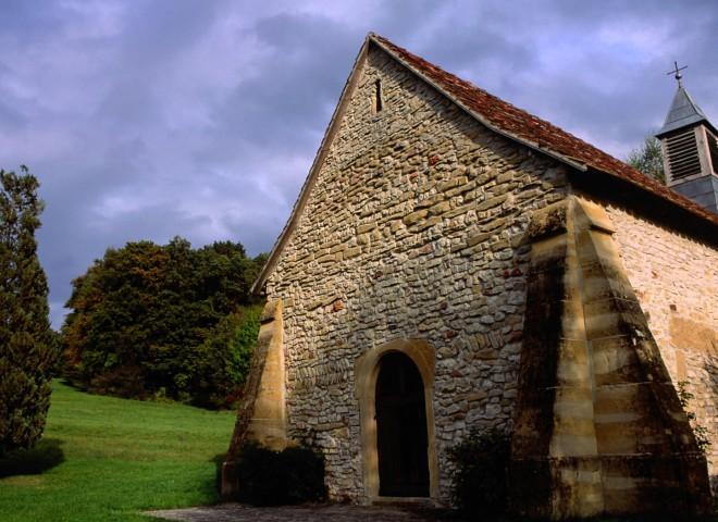 Chapelle Saint-Brice, Hausgauen, Haut-Rhin, Alsace