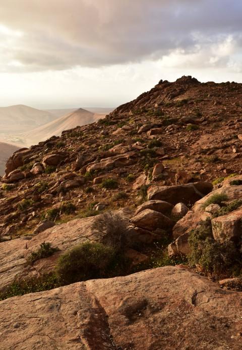 Montagnes vers Betancuria, Fuerteventura, Iles Canaries