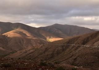 Vers Betancuria, Fuerteventura, Iles Canaries