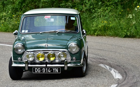 British racing green, Austin Cooper Mk II