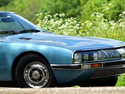 Citroën SM en épingle…