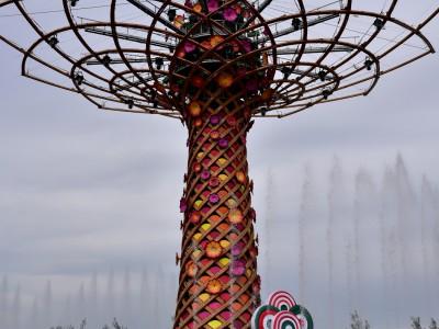 L'arbre de vie – Expo 2015 Milan