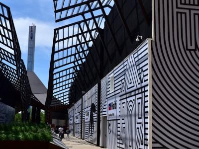 Pavillon d'Haïti, vue extérieure – Expo 2015 Milan