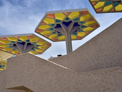 «Parasols», Pavillon du Qatar – Expo 2015 Milan