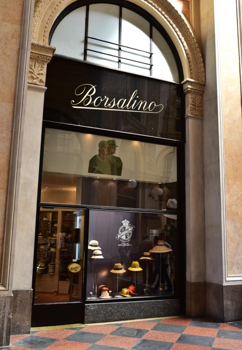 Boutique Borsalino, Galleria Vittorio Emanuele II – Milan, Italie