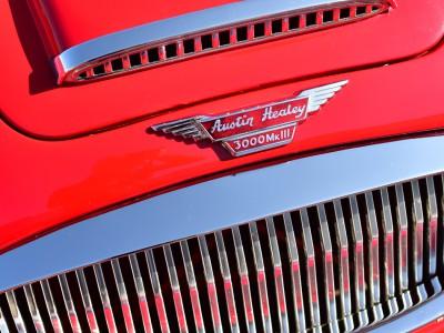 Gueule de chrome. Austin Healey 3000 MkIII