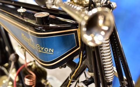 Monet-Goyon, détail du réservoir