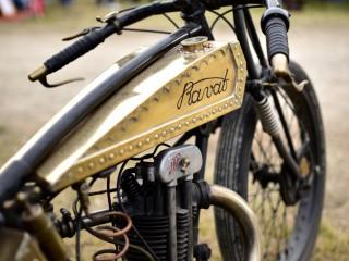 Pièce unique ? Motocyclette Ravat